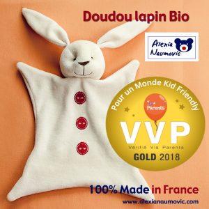 Doudou lapin bio VVP Alexia Naumovic (1)